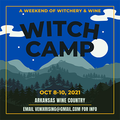 Witch Camp Retreat in Arkansas Wine Country